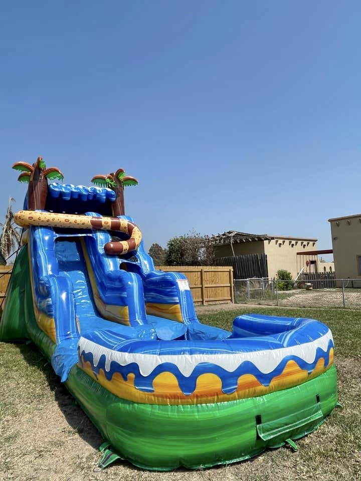 wild water slide rental