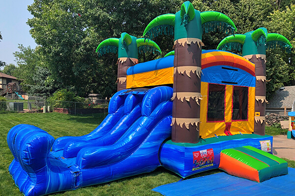 Shawnee Liquid bounce house rental.