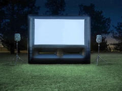 Giant Outdoor Movie Party