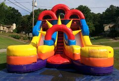 Bangarang 18ft Dual Lane Slide