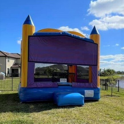 Marble bounce house rental