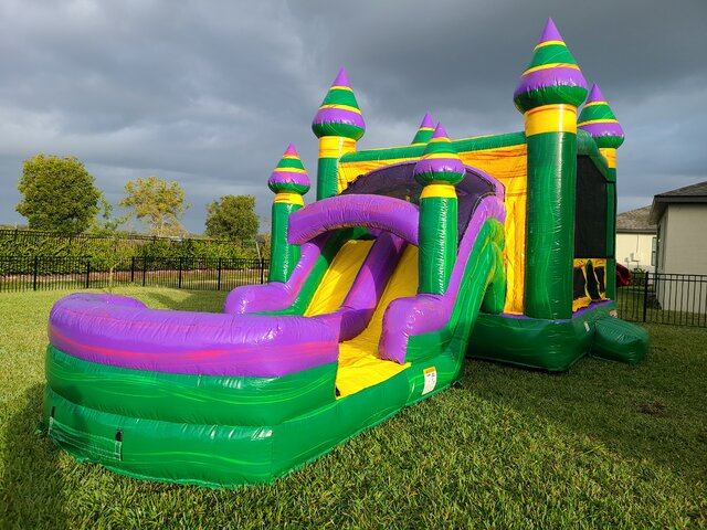 Bounce House Water Slide Combo Rentals