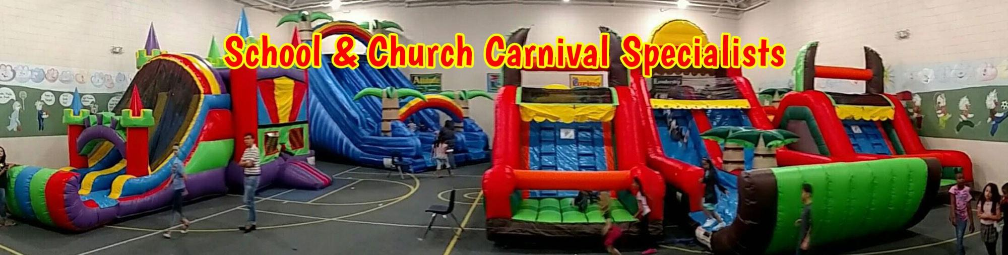 School & Church Carnival Rentals