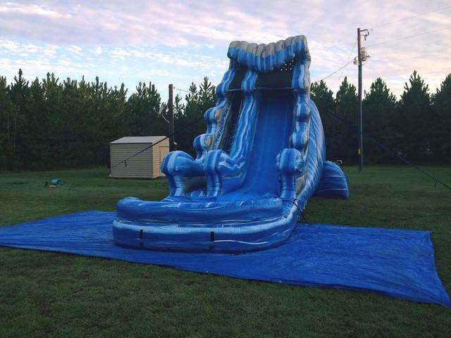 24ft Tidal Wave Water Slide