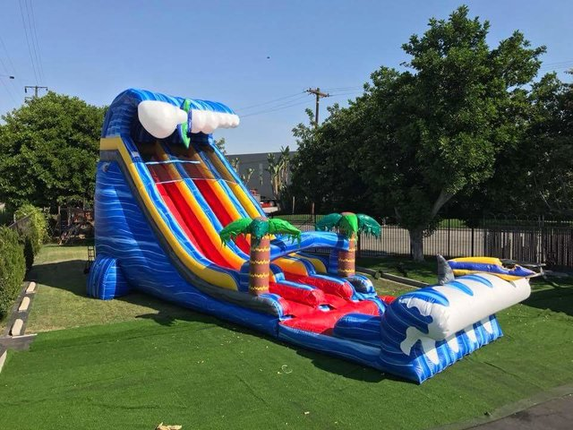 24ft Rip Tide Slide Dry