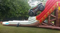 25ft Monster Truck Water Slide