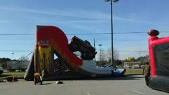 25 Ft Monster Truck Slide Dry