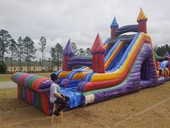 22ft Crazy Color Slide