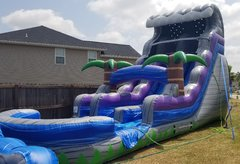 20ft High Tide Water Slide