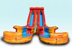 24ft Fire and Ice Water Slide