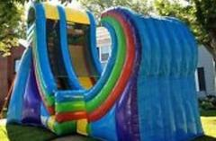 20ft Half Pipe Water Slide