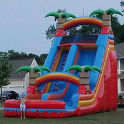 22ft Red Paradise Water Slide