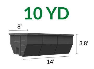 10 Yd Dumpster