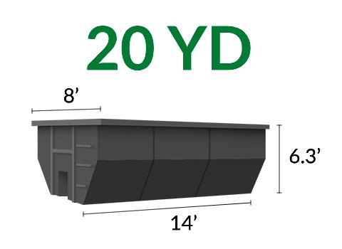 20 Yd Dumpster