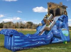 22' North Woods Log Flume Water Slide