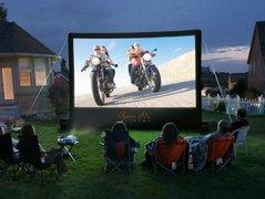 12' x 7' Backyard Inflatable Movie Screen System