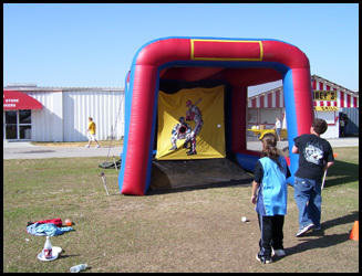 Baseball Speed Pitch/ Football Toss