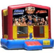 WWE Superstars Bounce House