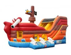 Pirate Ship Bounce & Slide