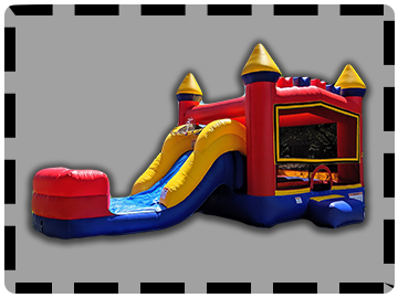 Bounce House With Slides