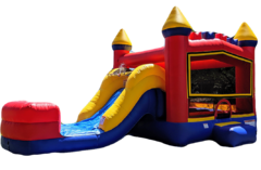 Play Castle Combo Includes: Slide & Interior Basketball Hoop