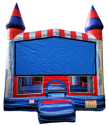 Ice Castle JumpBasketball Hoop Inside
