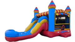 Circus Fun Combo Includes: Slide & Interior Basketball Hoop