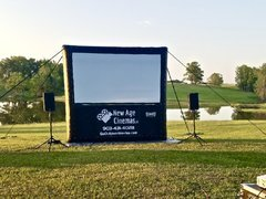 Backyard Movie Screen Rentals