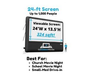 inflatable movie screen rentals in shreveport LA