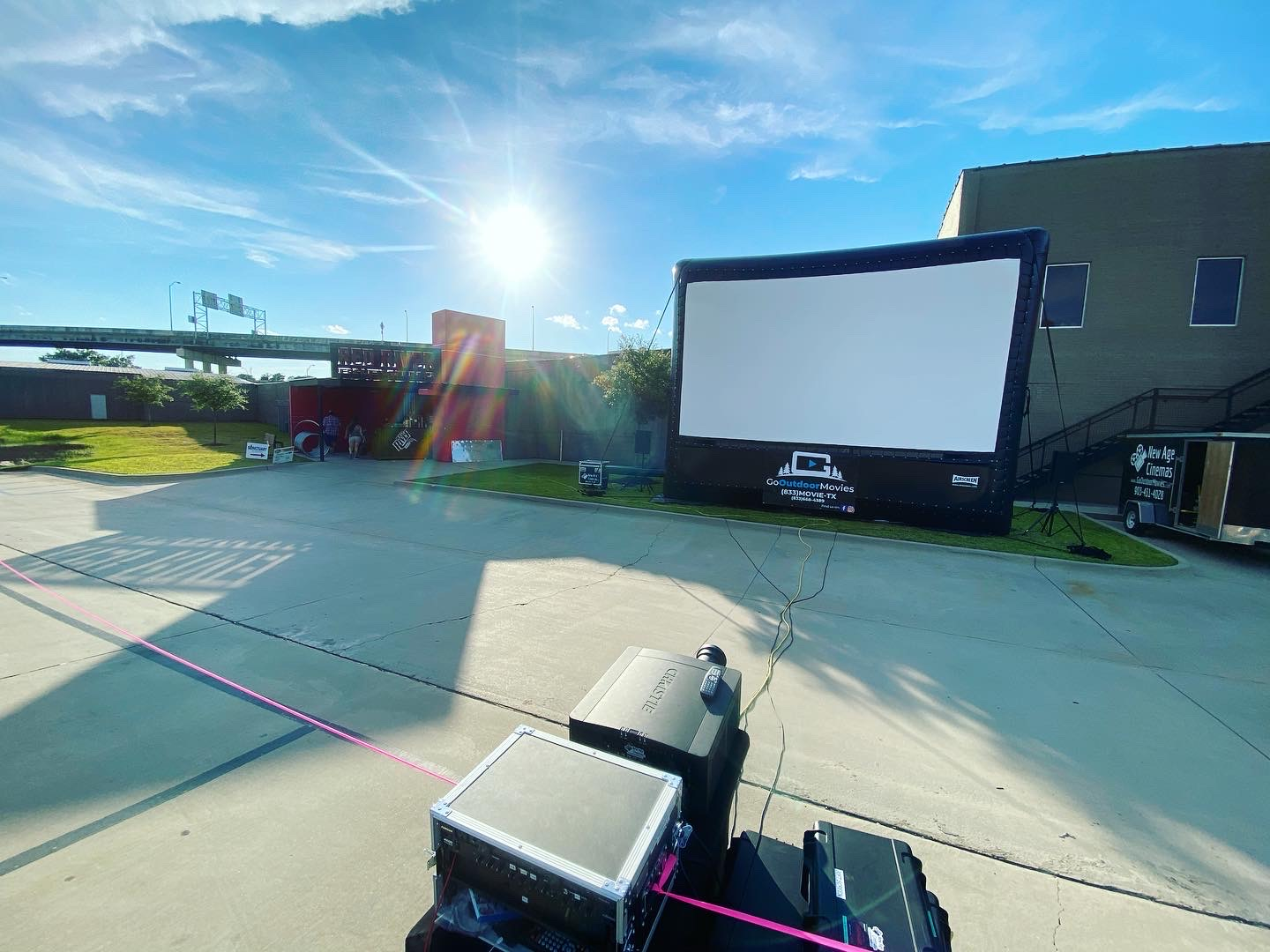 Projector and Screen Rentals Shreveport
