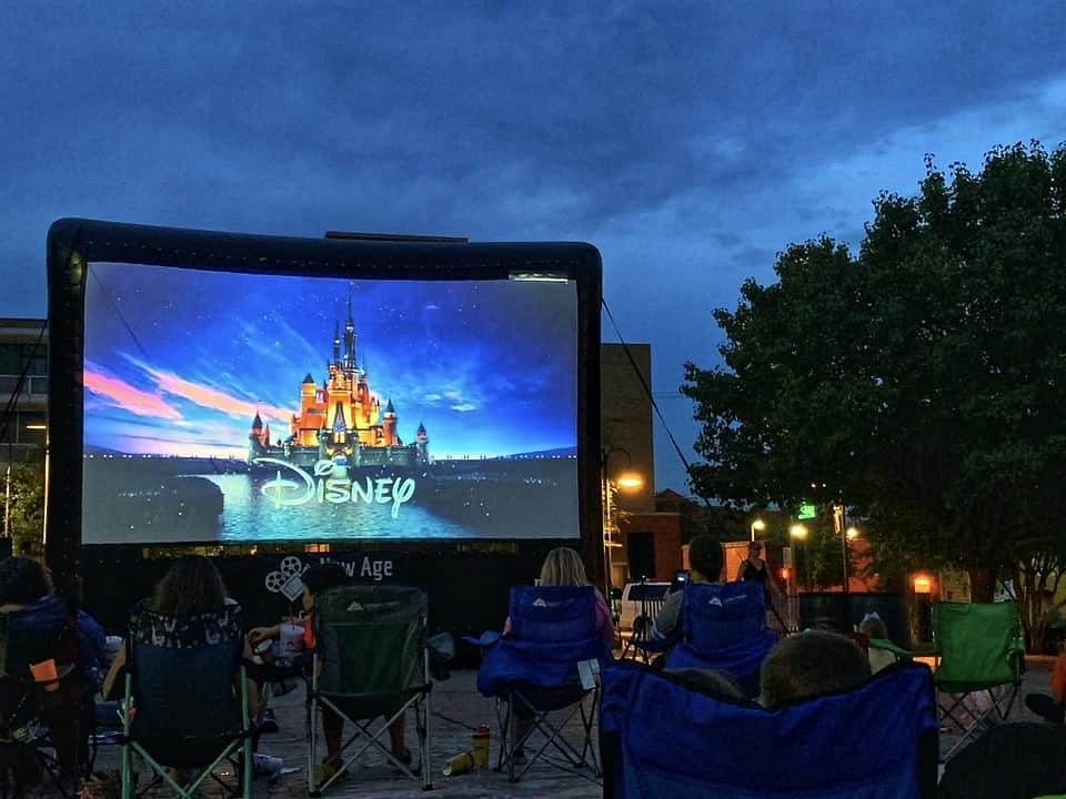 Outdoor Movie Rental Series
