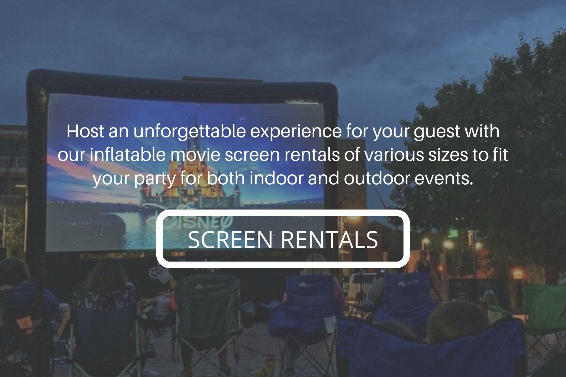 unforgettable outdoor movie experience