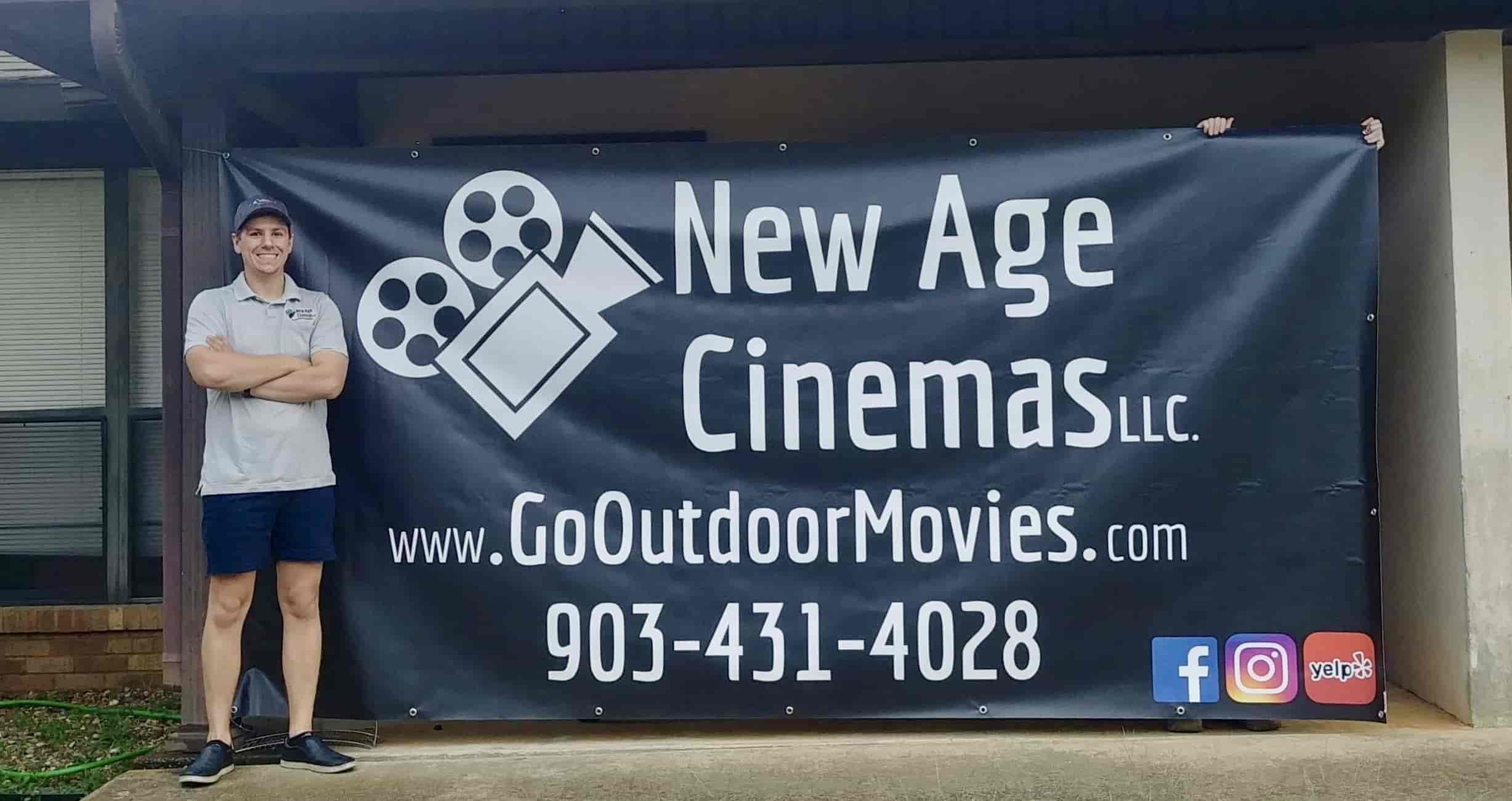 New Age Cinemas Owner and Founder Shane