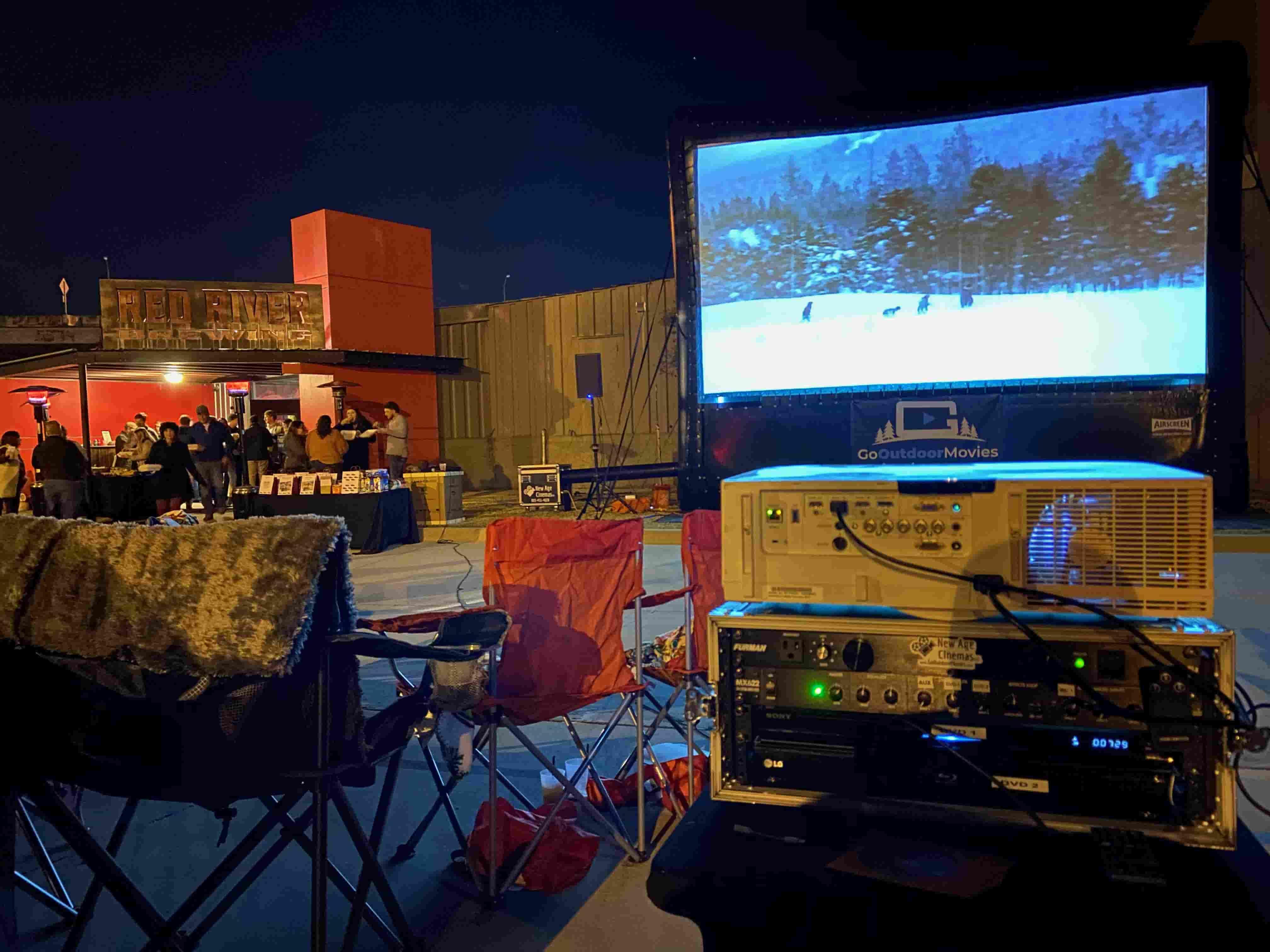 shreveport outdoor movie