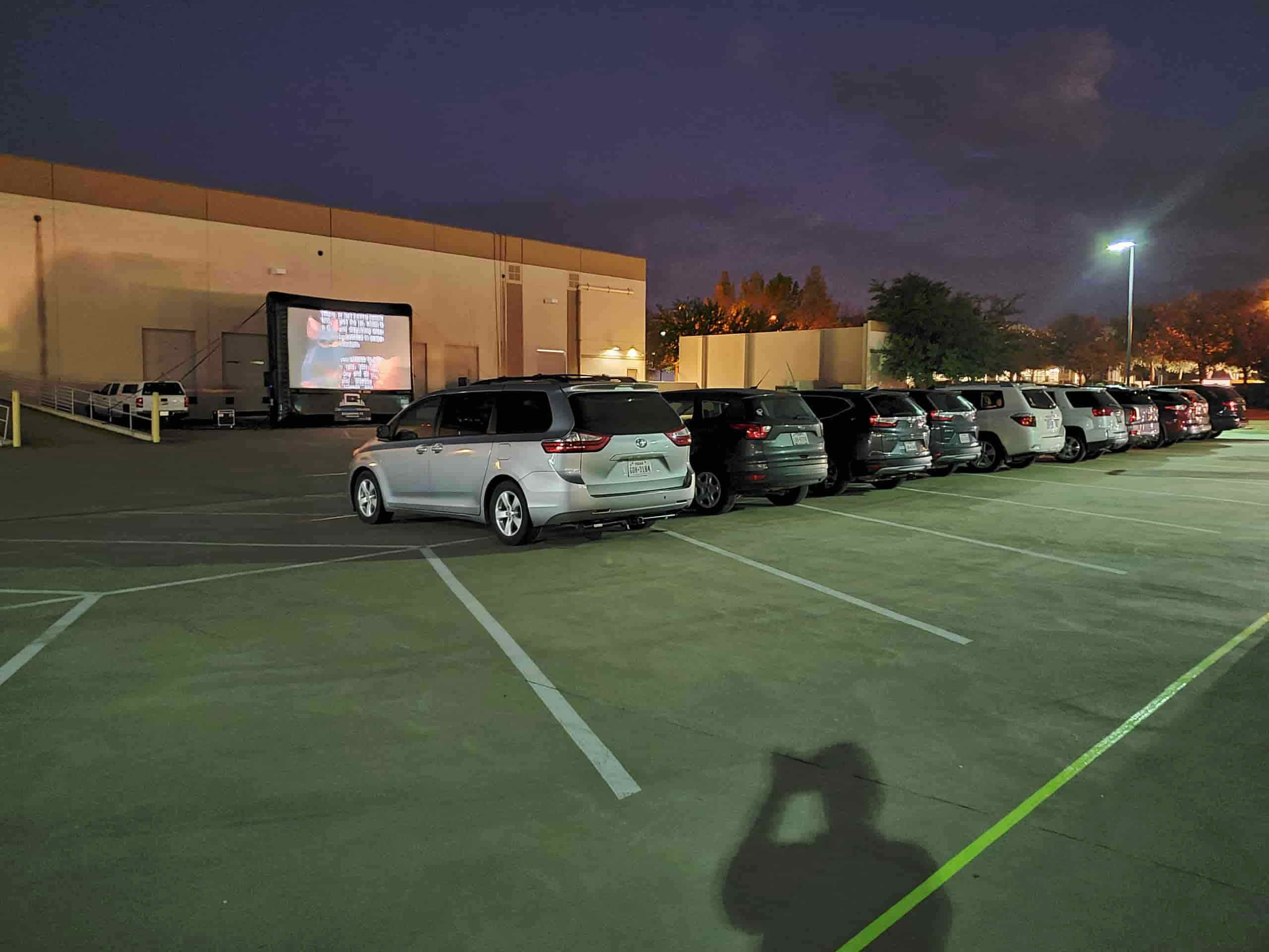 drive in movie rental for parks and rec
