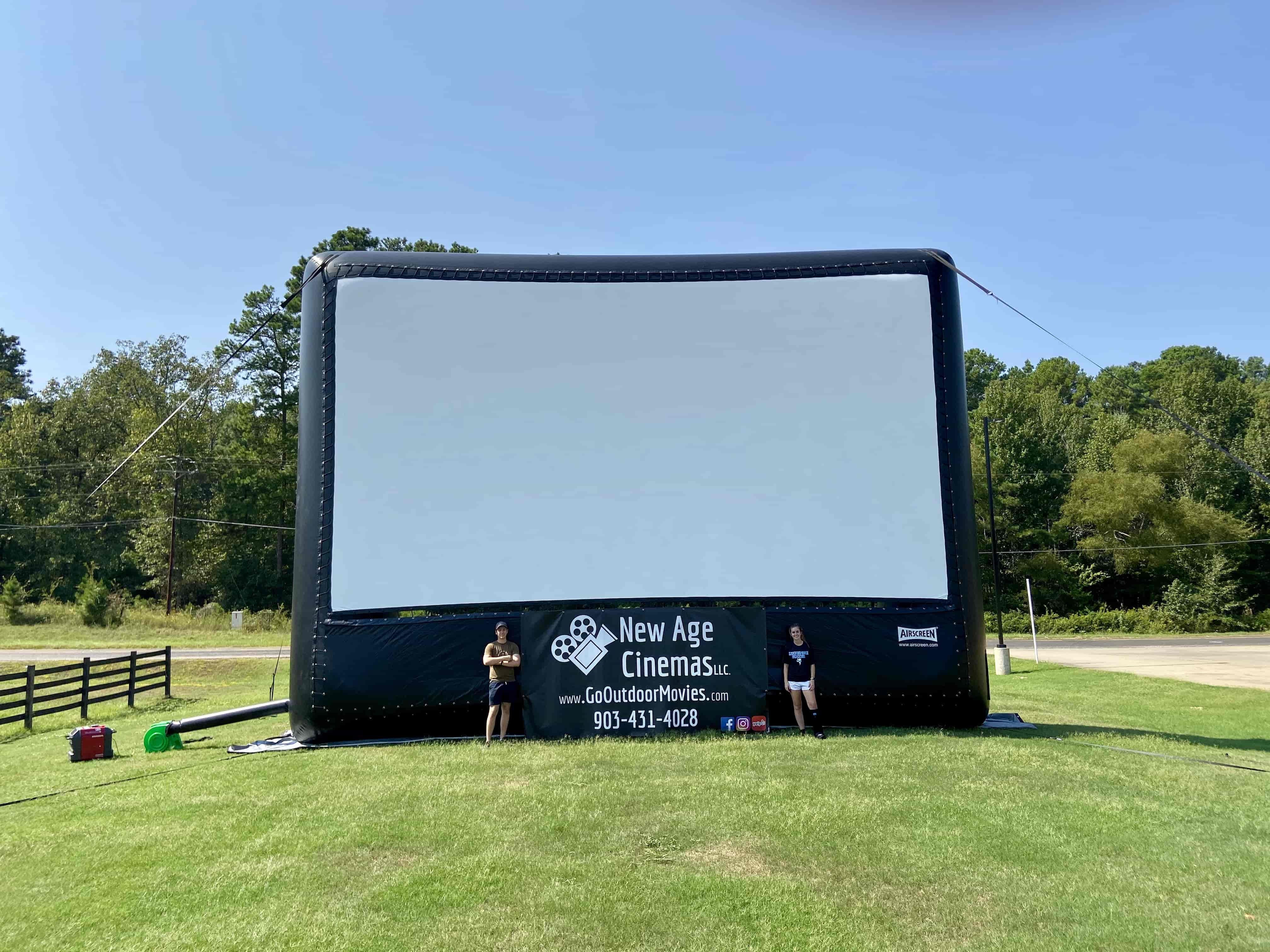 AIRSCREEN Movie Screen Rental