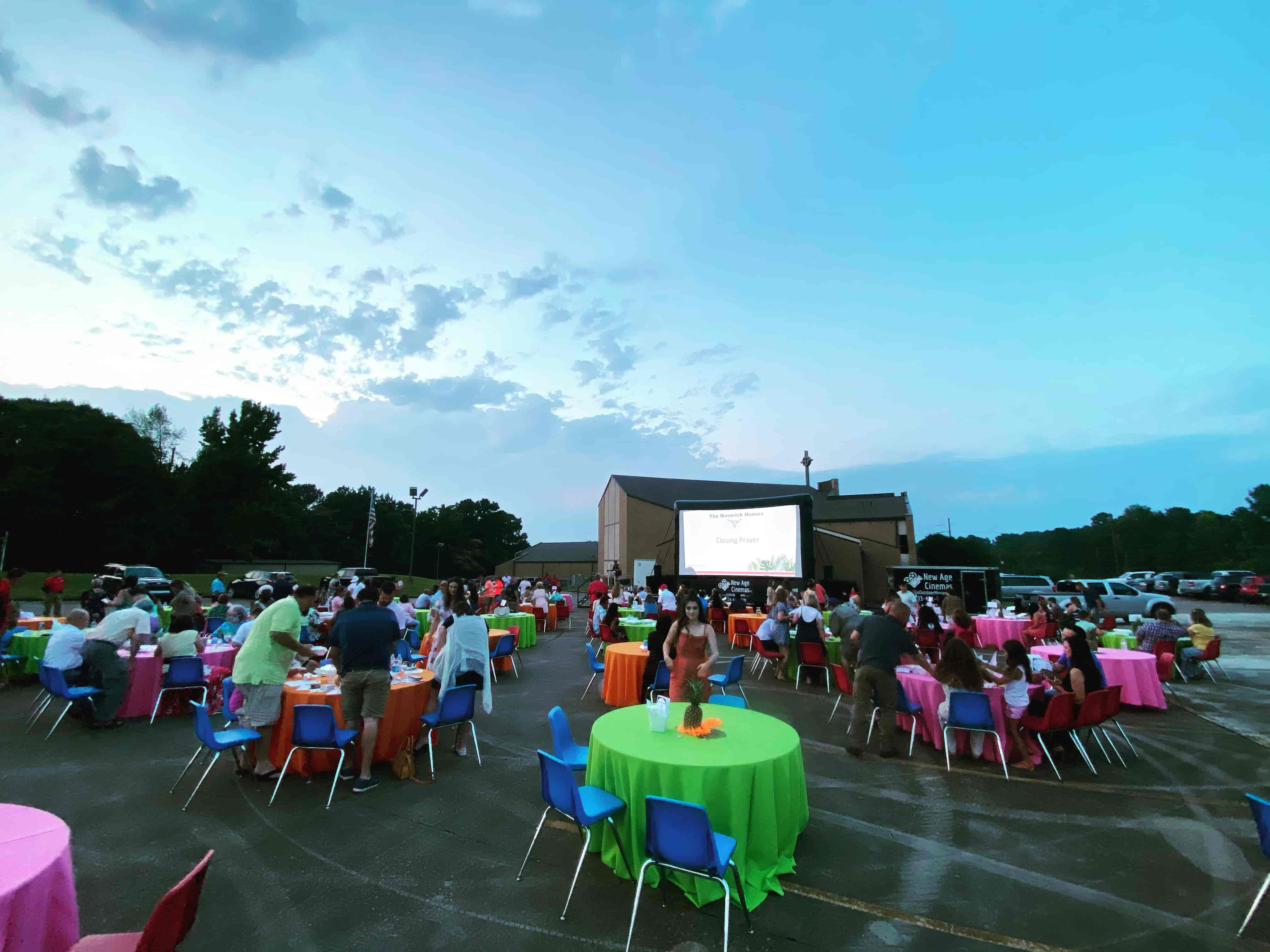 Fort Worth Outdoor Movie Rental