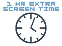 Additional Hour of Screen Time
