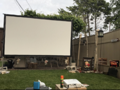 14-ft Indoor Screen