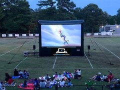 20ft AIRSCREEN Outdoor Movie Package 1