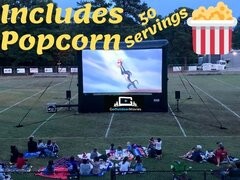 20ft AIRSCREEN Outdoor Movie Package 2