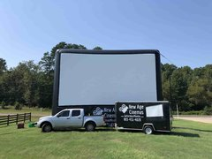 30-Foot AIRSCREEN Outdoor Movie Package 1