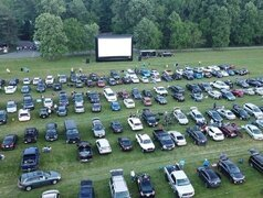 30-Foot AIRSCREEN Drive-in Movie - 75+ cars