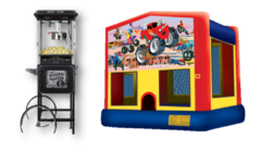 Monster Truck Party Package