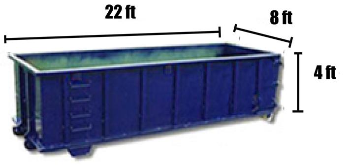 25 Yard Dumpster Rental