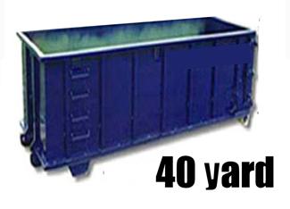 40 Yard Dumpster For Rent