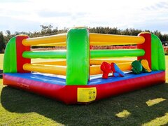 "Inflatable # 4 ""Punch Out Boxing Ring"""