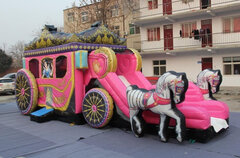 "Inflatable # 50 ""Princess Carriage"""