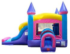 "Inflatable # 18 ""Double Lane Pink and Purple Combo"""