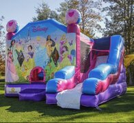 "Inflatable # 40 ""Disney Princess Bounce & Slide"""